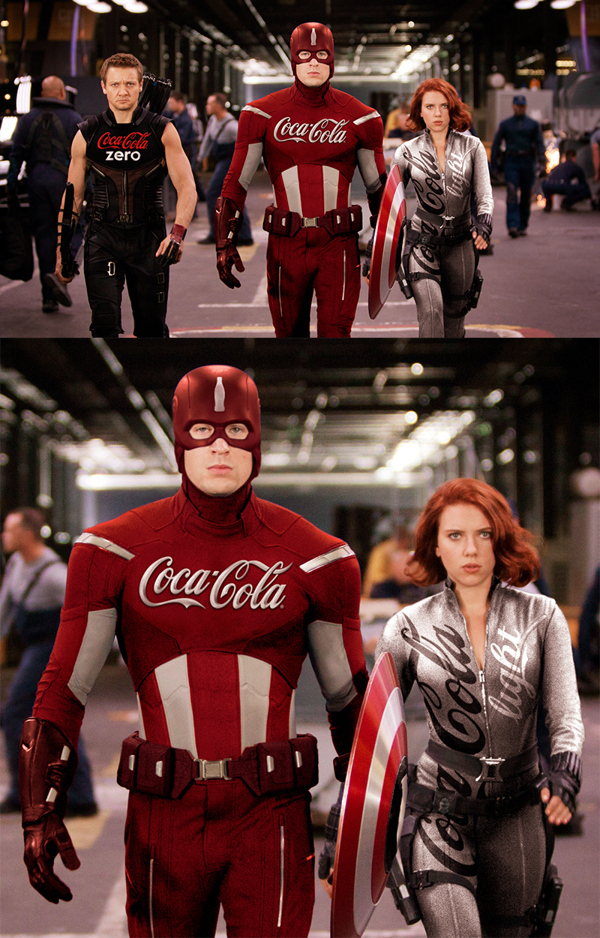 The Avengers by Coca
