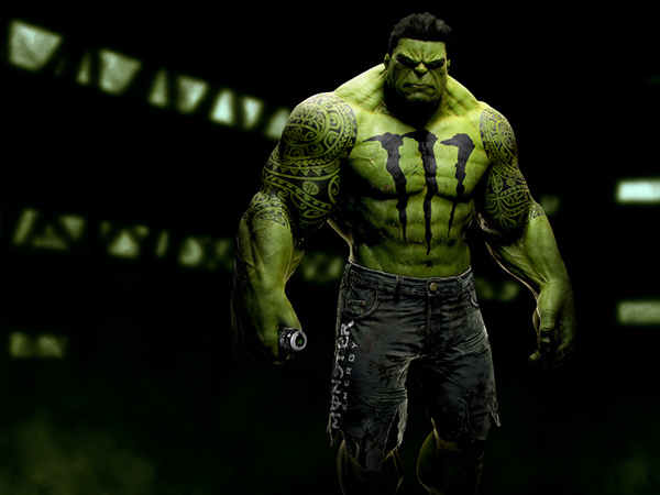 Hulk by Monster